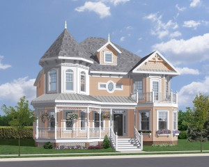 """Best """"On the Boards"""" Single Family Detached Home designed by Rebecca Fluharty"""