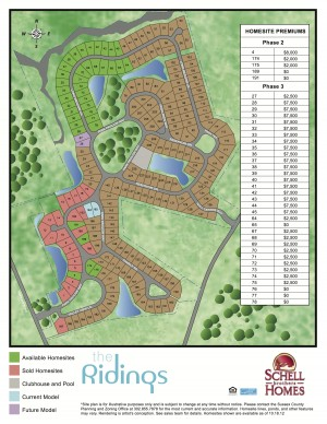 The Ridings Siteplan 10.19.12