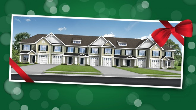 Breakwater townhomes just in time for the holidays