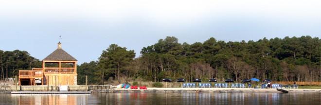 The beach at Bayfront at Rehoboth
