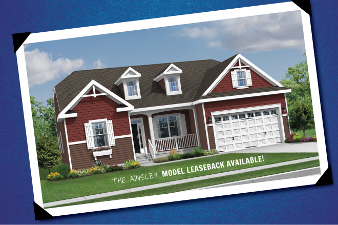 Ainsley model leaseback available at Ridings