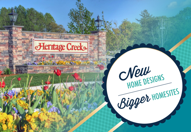 Heritage Creek in Milton - Phase 3 homesites available