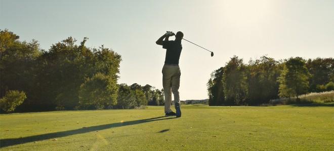 Golfing at Bayside