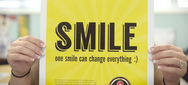 Smile Campaign - Schell Brothers' Office Tour