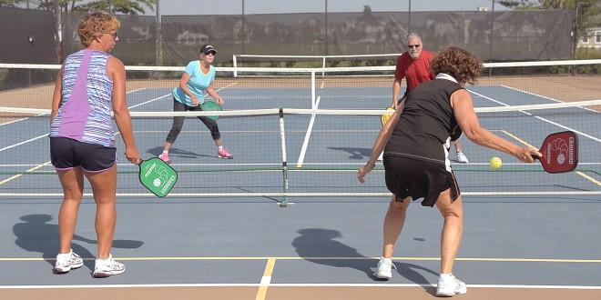 Pickleball at Coastal Club