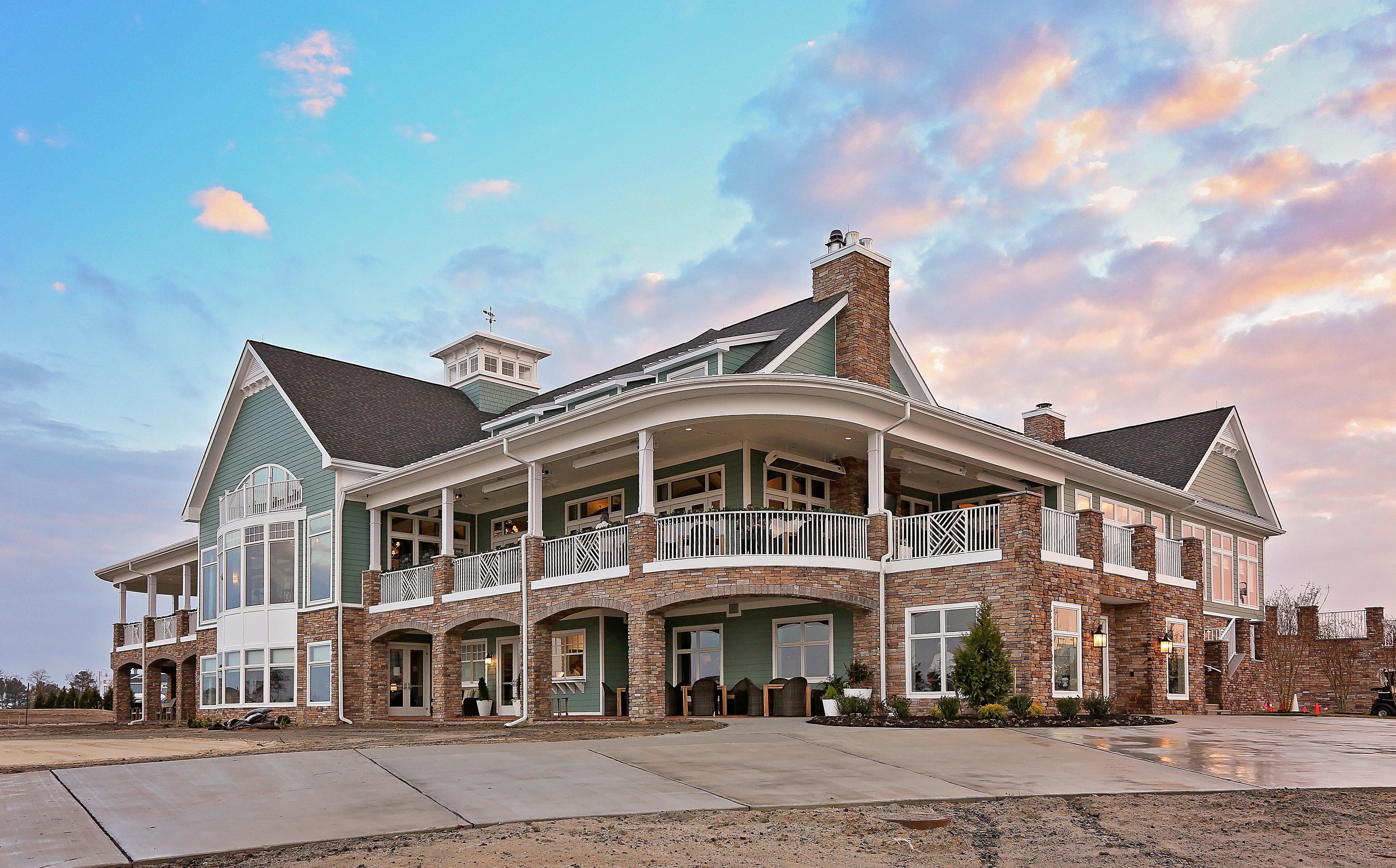 Peninsula clubhouse
