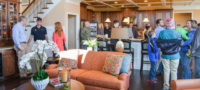 Parkside Model Grand Opening Schell Brothers