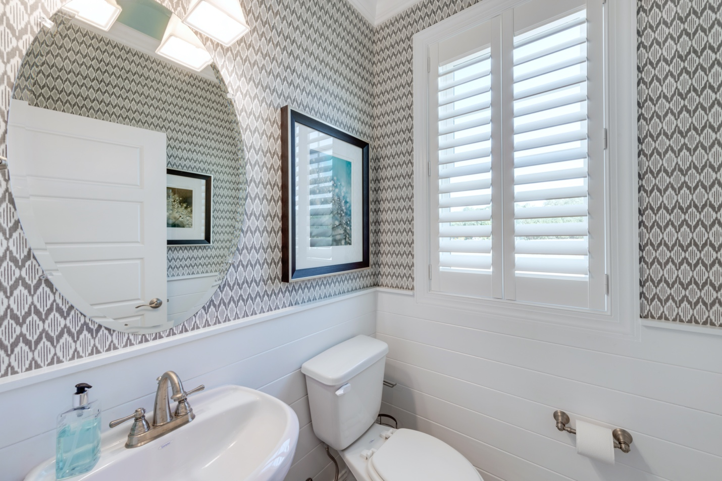 A picture containing bathroom, indoor, wall, window Description automatically generated
