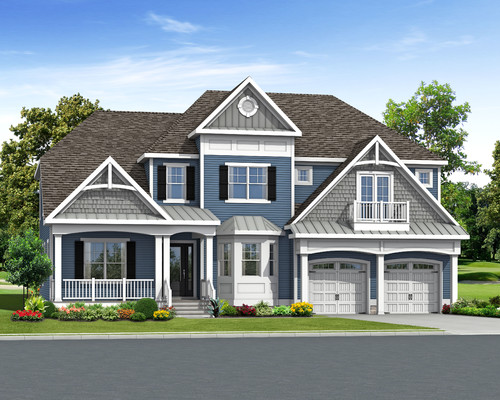 The Waterford in Carlton Ridge Optional Elevation C