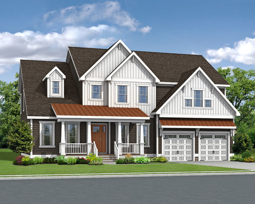 The Waterford Optional Elevation Craftsman