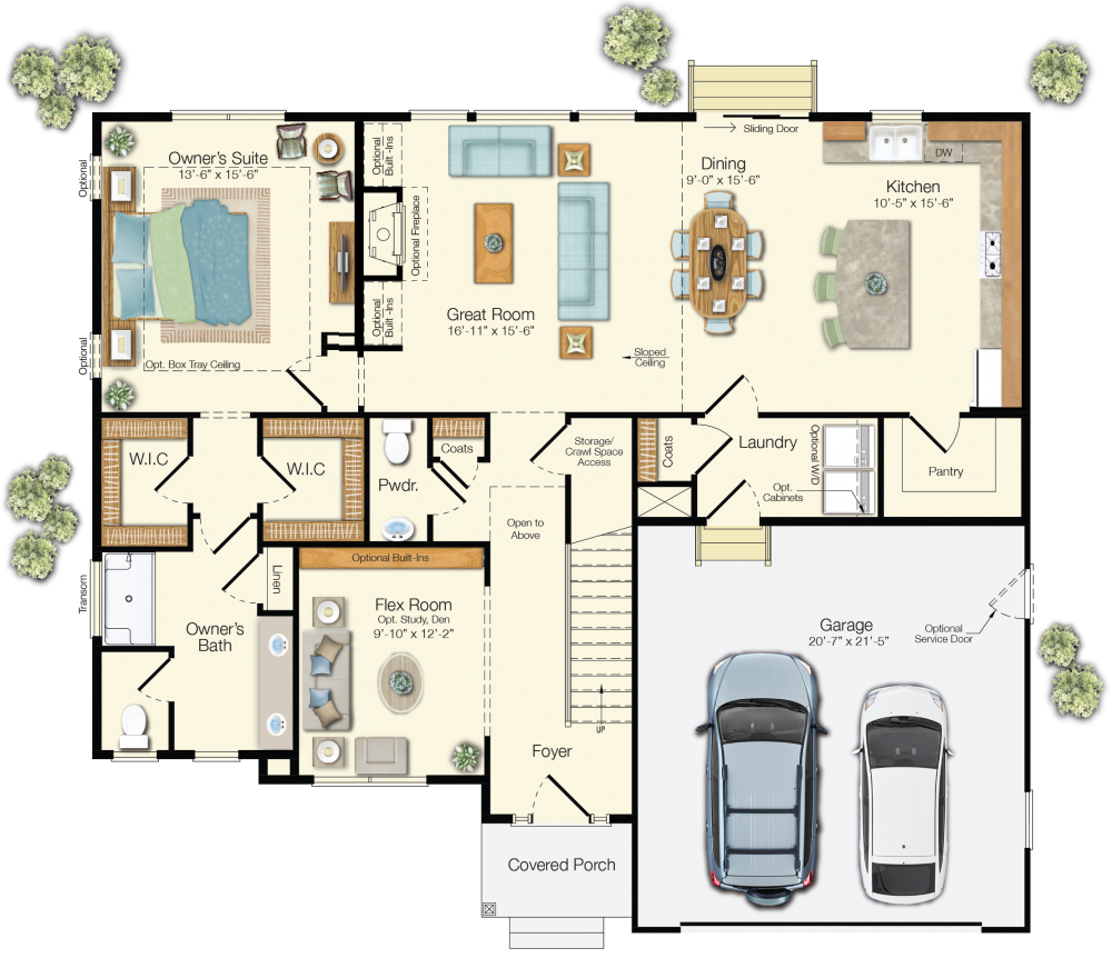100 Mungo Floor Plans 405 Ladysmith Drive In
