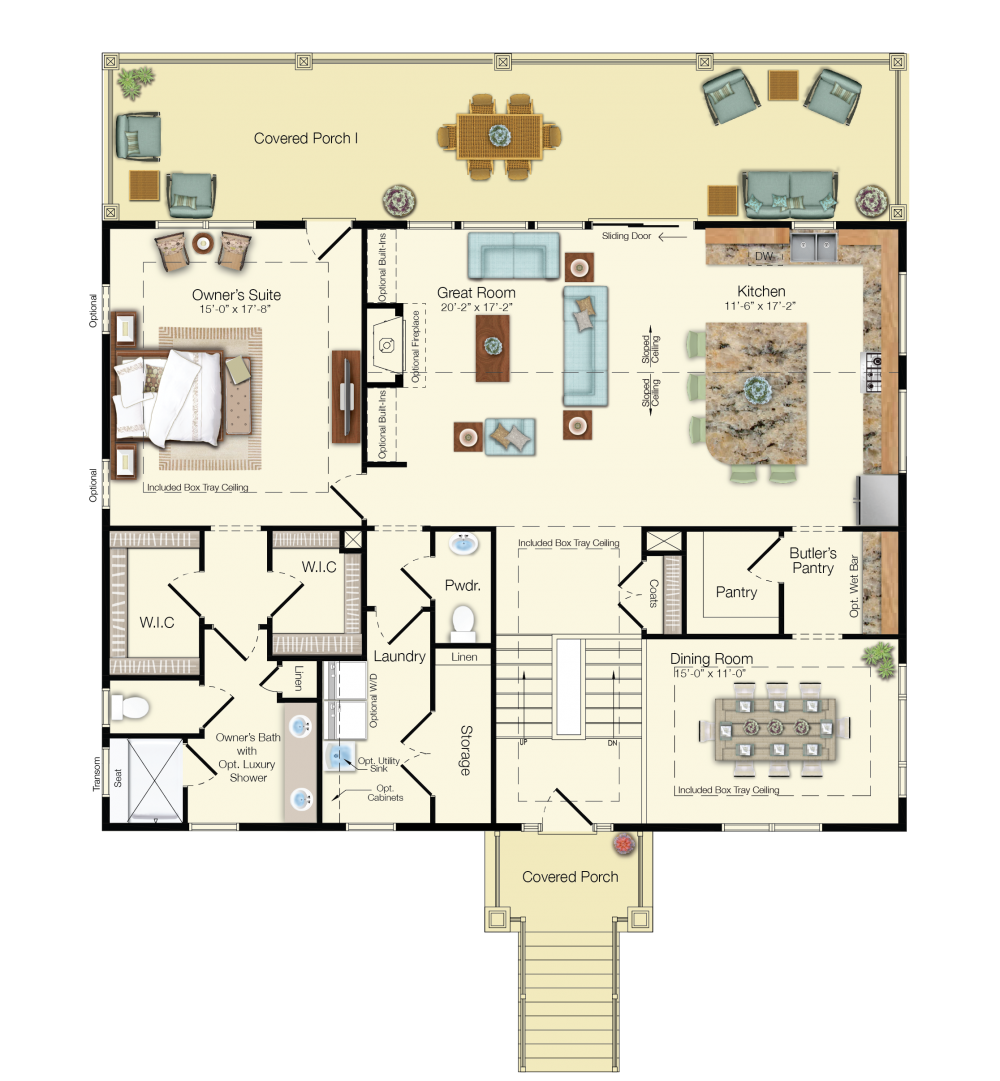 the sea cliff floor plan schell brothers