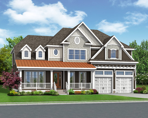 The Waterford in Carlton Ridge Optional Elevation B