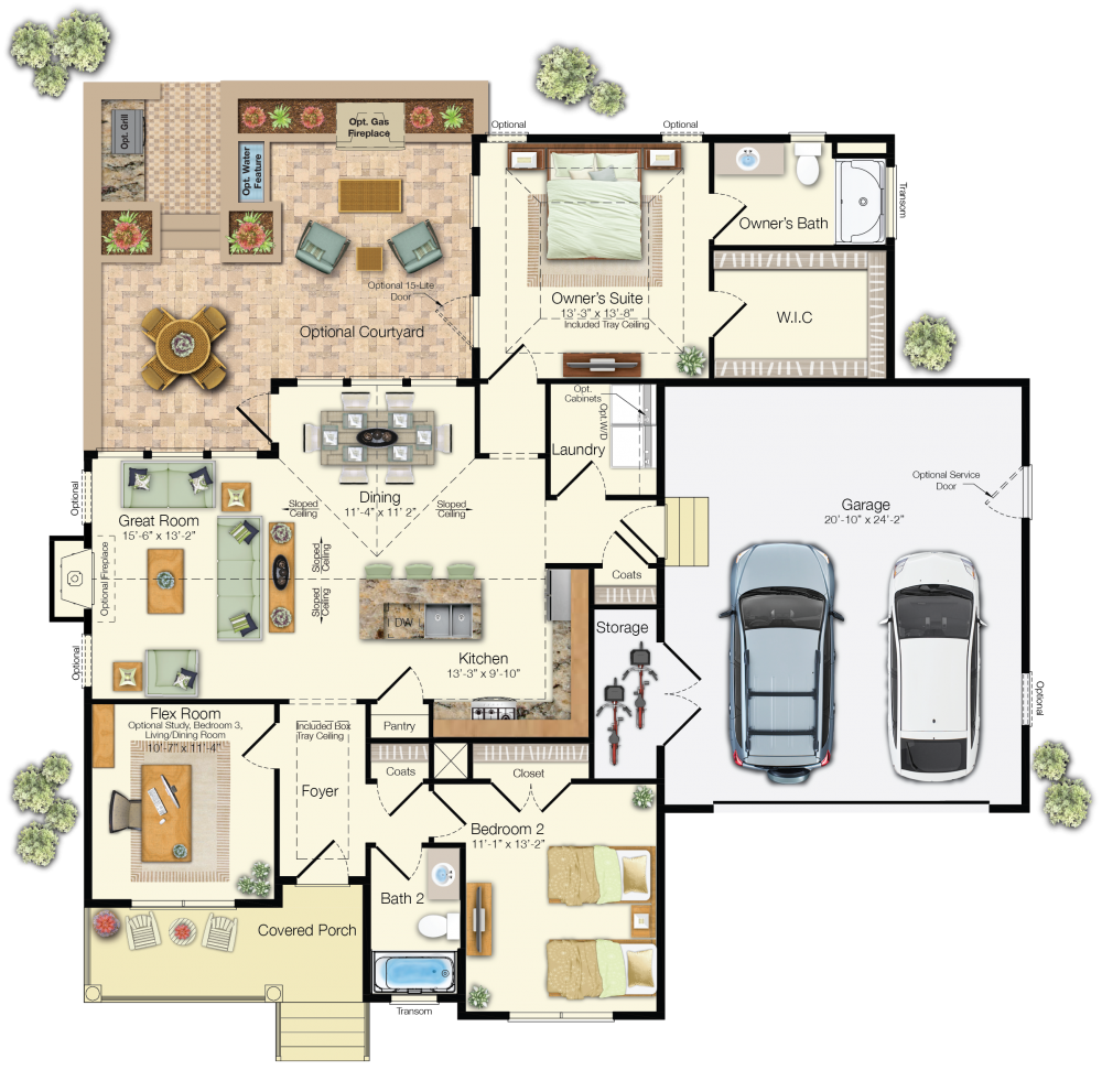 the osprey floor plan independence schell brothers