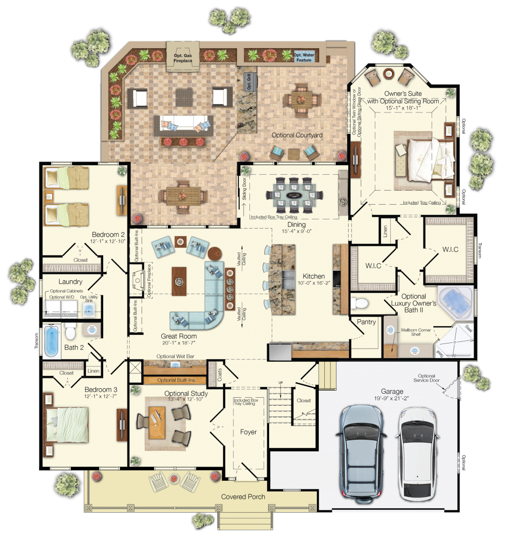 100 family home floor plan best 20 floor plans ideas on pinterest house floor plans house - Three family house plans cost efficient choices ...
