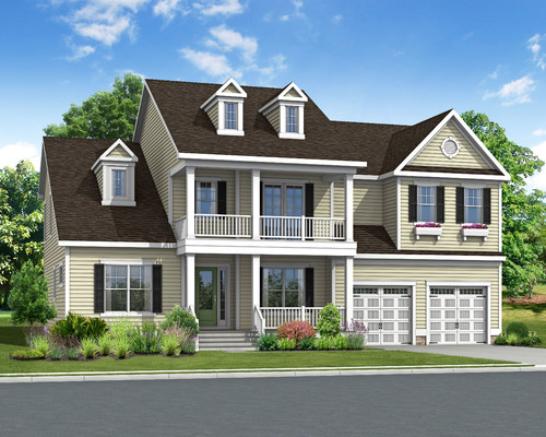 The Waterford Optional Elevation E