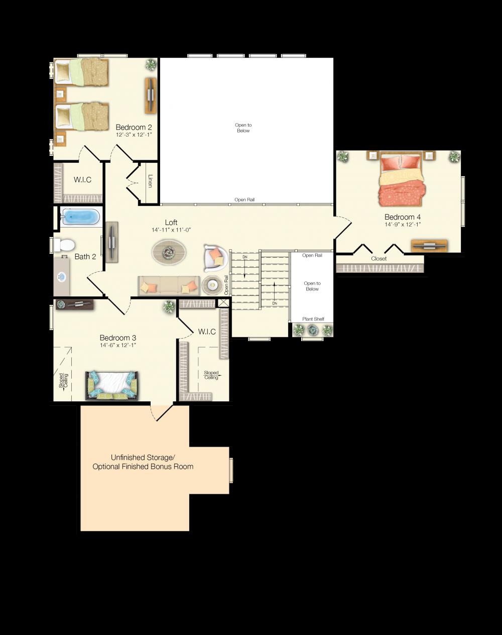 100 Single Family Floor Plans Cabin Branch Single