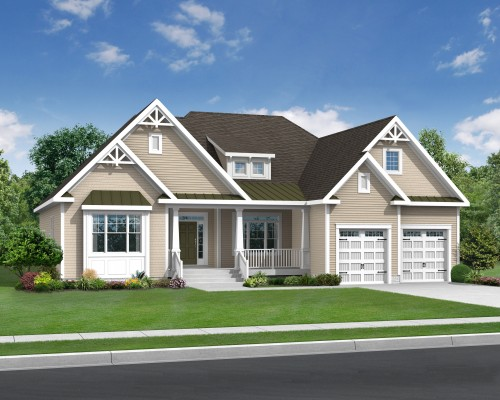 The Herring Point Optional Elevation B
