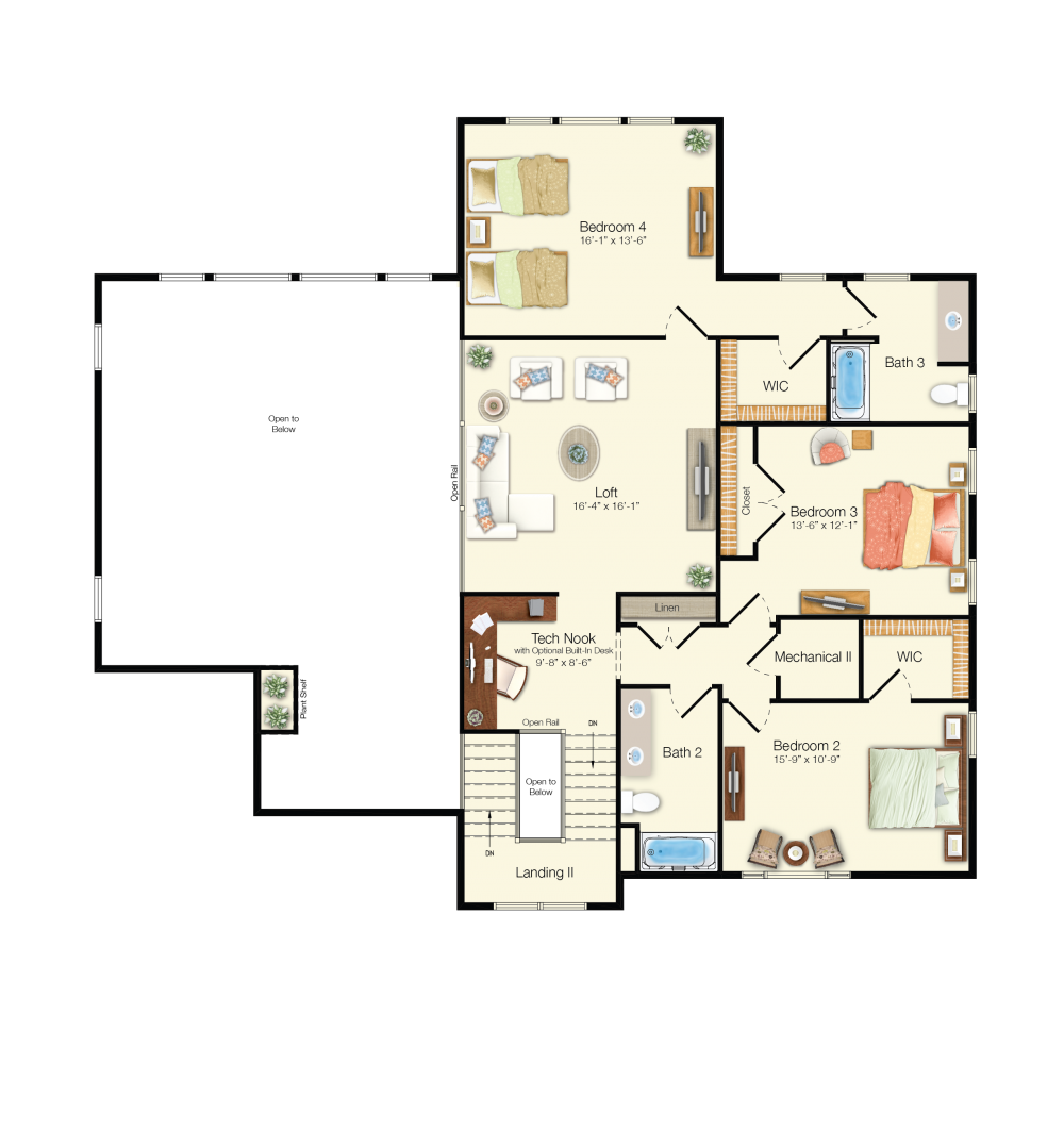 the grand cayman floor plan bayside schell brothers