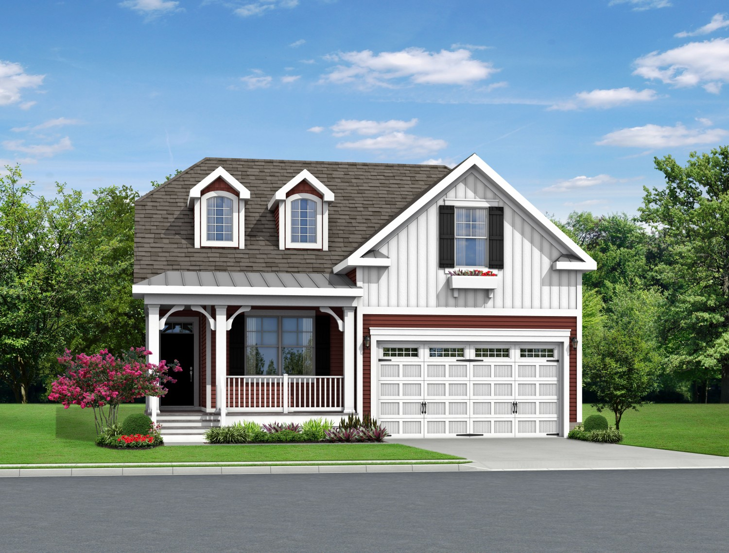 The exceptional curb appeal of a Schell