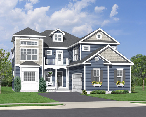 The Kiawah Included Elevation A
