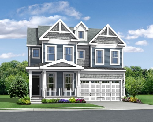 The Lilac Included Elevation A