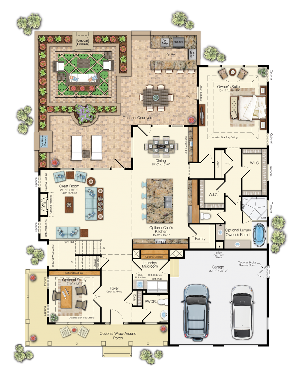 the shearwater floor plan schell brothers