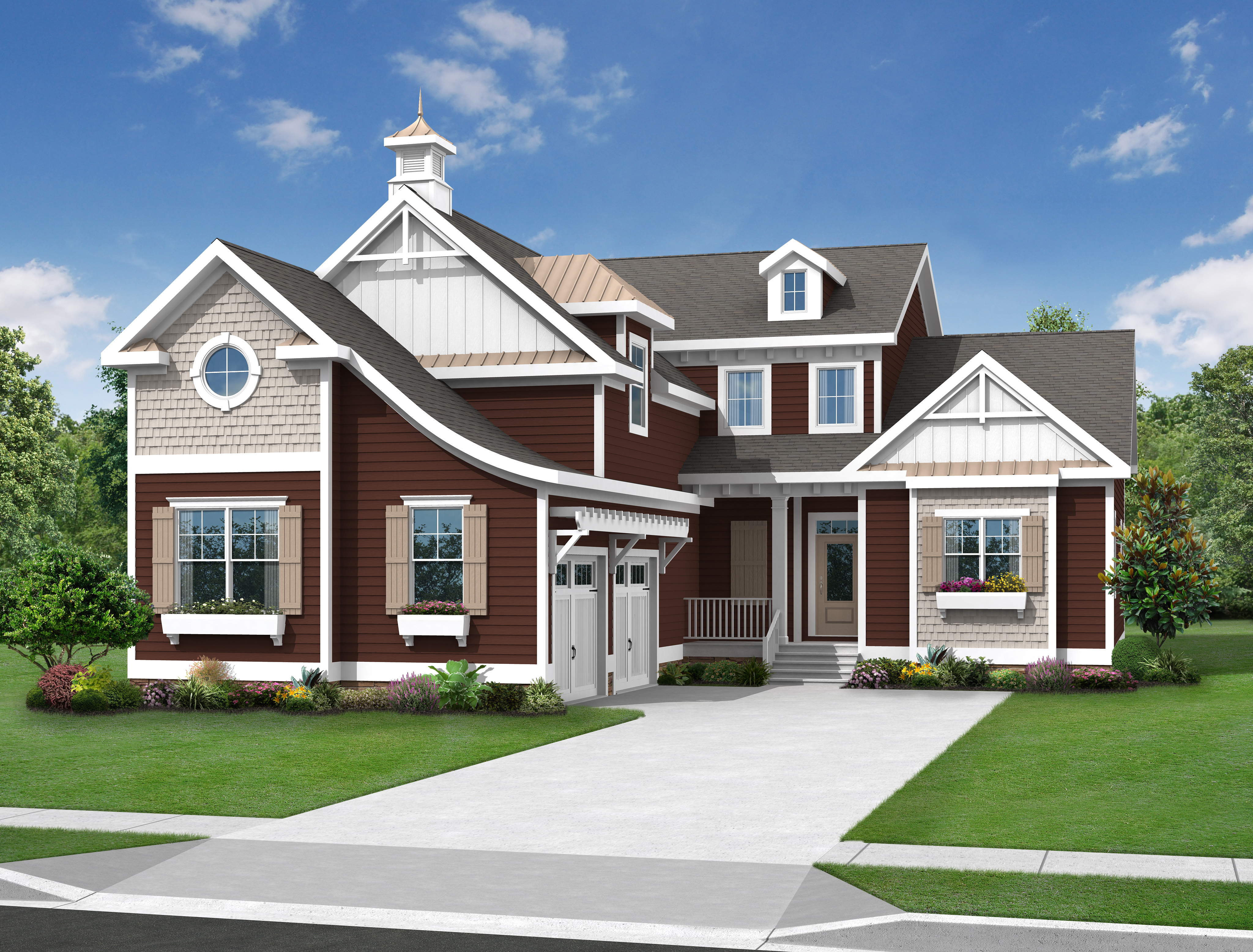 The bethany floor plan schell brothers for Single family home plans